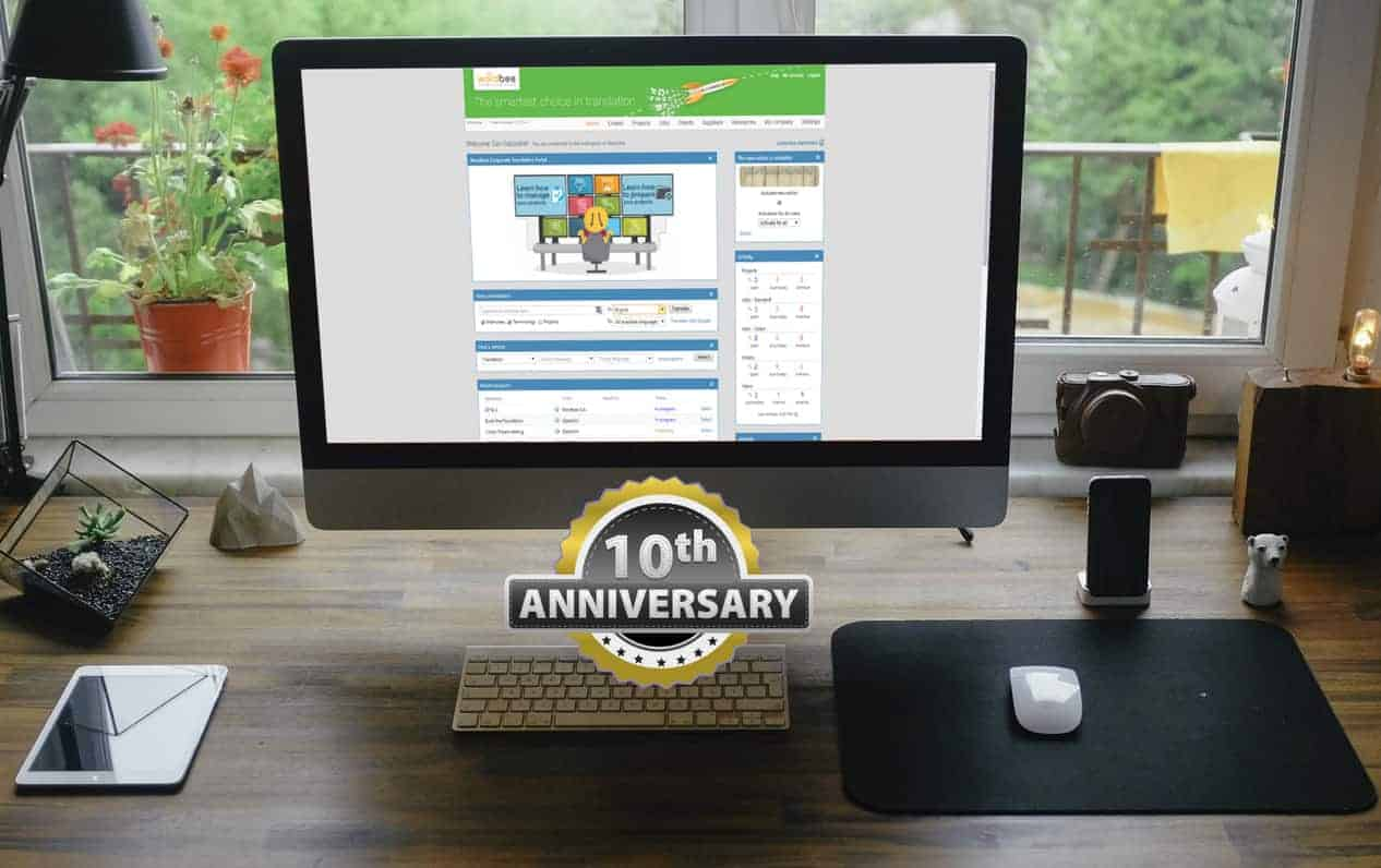10th Anniversary of Wordbee – The evolution of the most comprehensive translation tool on the market