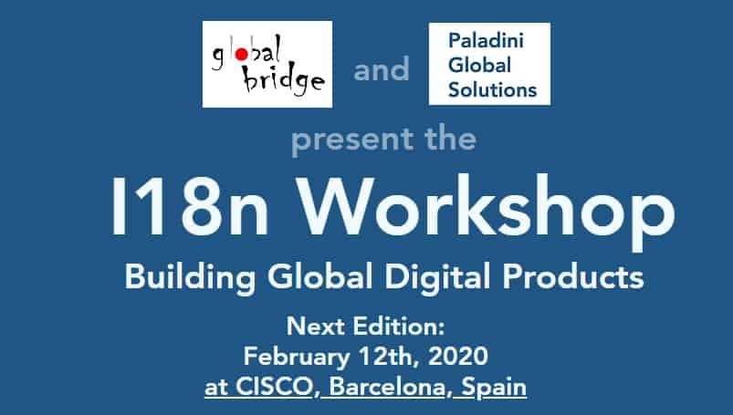 I18n Workshop Barcelona