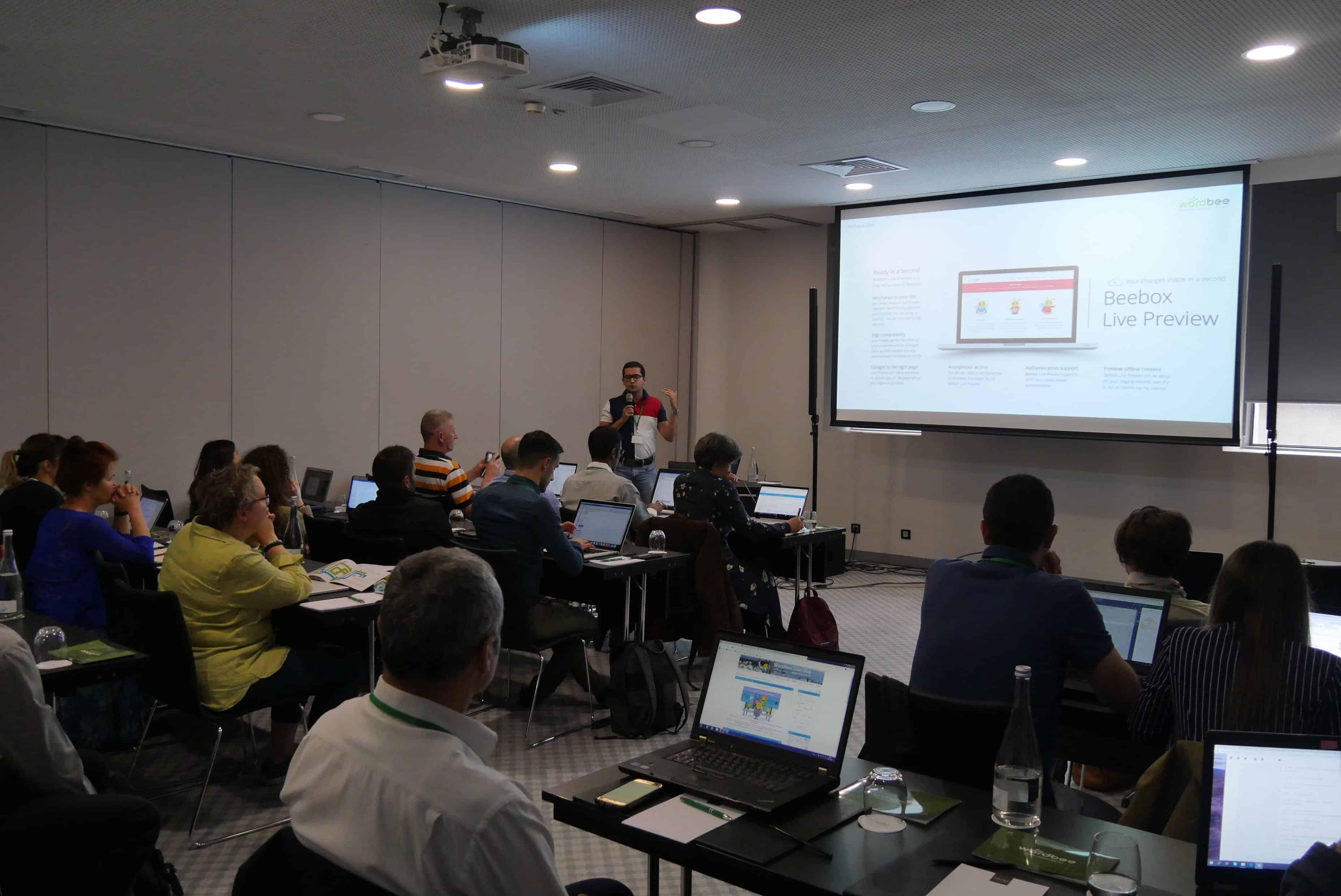 Wordbee User Day - Beebox Workshop.