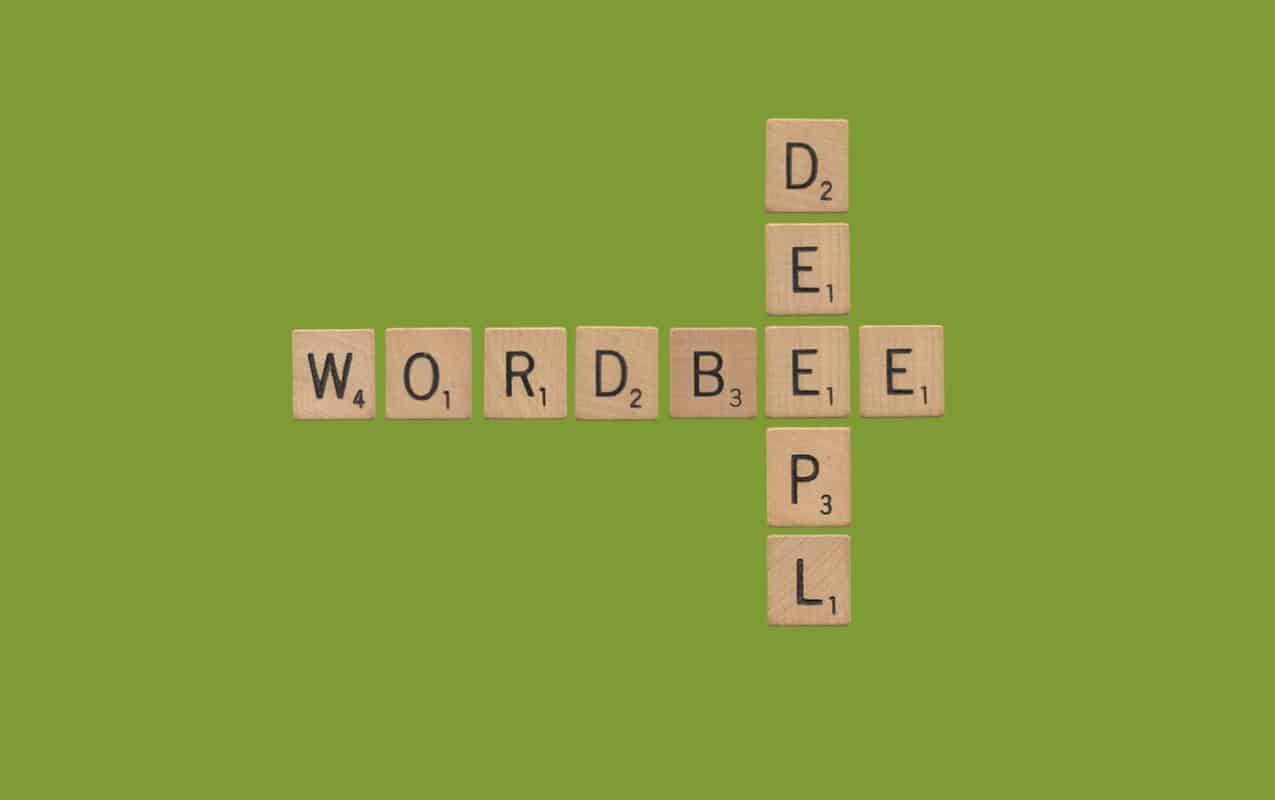 DeepL machine translation available in Wordbee Translator